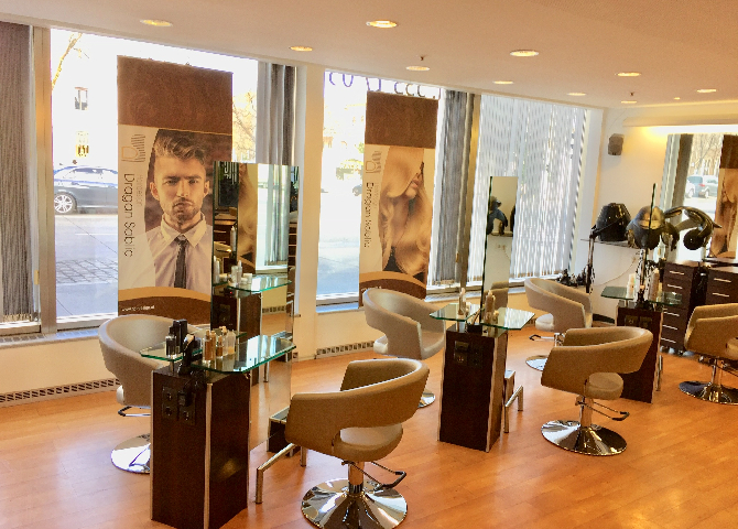 Salon hairdesign im hotel intercontinental